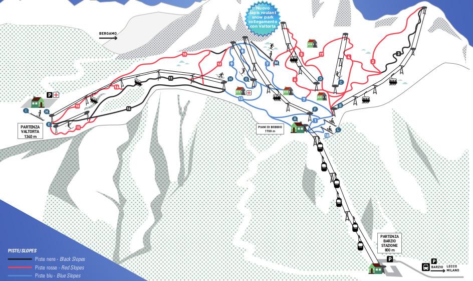 sciare a valtorta piani di bobbio